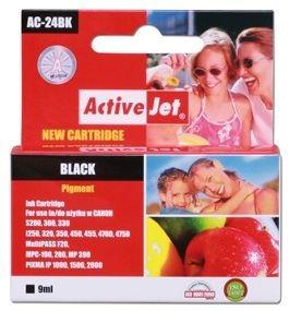 ActiveJet Tusz ActiveJet AC-24BK | Black | 9 ml | Canon BCI-24BK