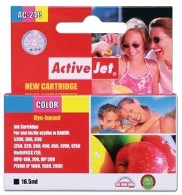 ActiveJet Tusz ActiveJet AC-24C | Color | 16,5 ml | Canon BCI-24C