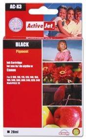 ActiveJet Tusz ActiveJet ACX-3 | Black | 28 ml | Regenerowany | Canon BX-3