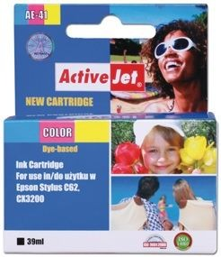 ActiveJet Tusz ActiveJet AE-41 | Color | 39 ml | Chip | Epson T041