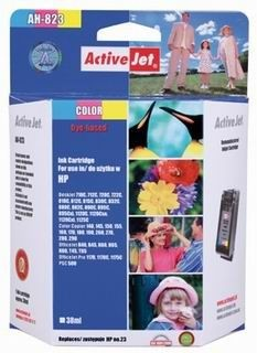 ActiveJet Tusz ActiveJet AH-23R | Color | 38 ml | Regenerowany | HP C1823 | HP 23