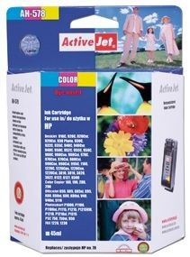 ActiveJet Tusz ActiveJet AH-78R | Color | 45 ml | Regenerowany | HP C6578 | HP 78
