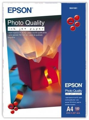 Papier Epson Photo Quality Ink Jet (matowy, 105g, A4, 100szt.)
