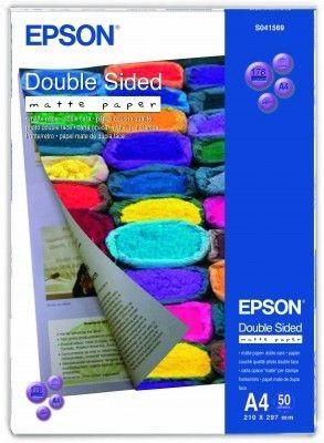 Papier Epson Double Sided Matte (matowy, 178g, A4, 50szt.)