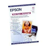 Papier Epson Matte Heavyweight (matowy, 167g, A3, 50szt.)