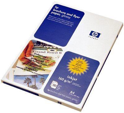 Papier HP brochure & flyer (błyszczący, 160g, A4, 50 ark.)