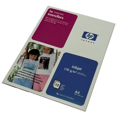HP Papier HP iron-on transfers | 170g | A4 | 12ark