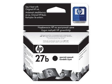 HP No 27 Black [C8727AE] 10ml