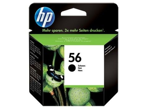 HP No 56 Black [C6656AE] 19ml