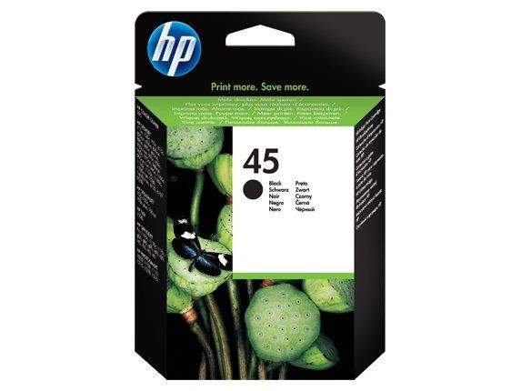 HP No 45 Black [51645AE] 42ml