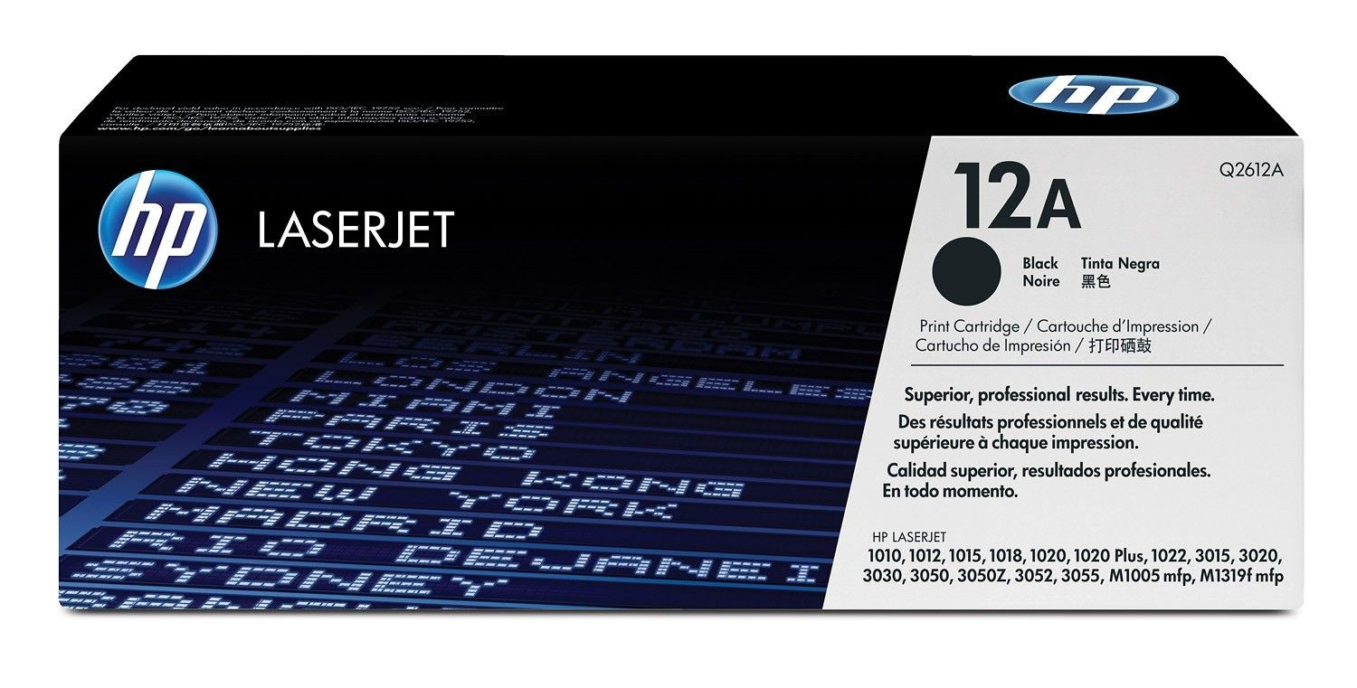 HP Toner HP black | 2000str | LaserJet1010/1012/1015/1020
