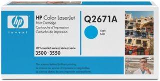 HP Toner HP 309A cyan | 4000str | CLJ 3500/3550