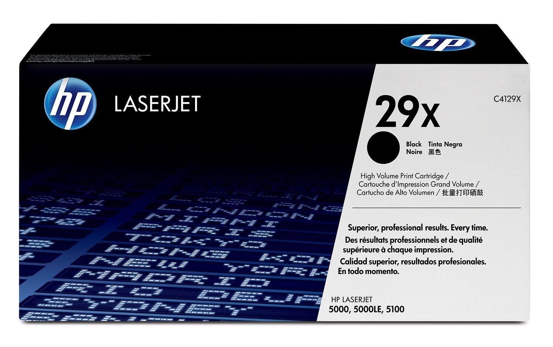 Toner HP czarny C4129X [ 10000 stron, LaserJet 5000/5100 ]