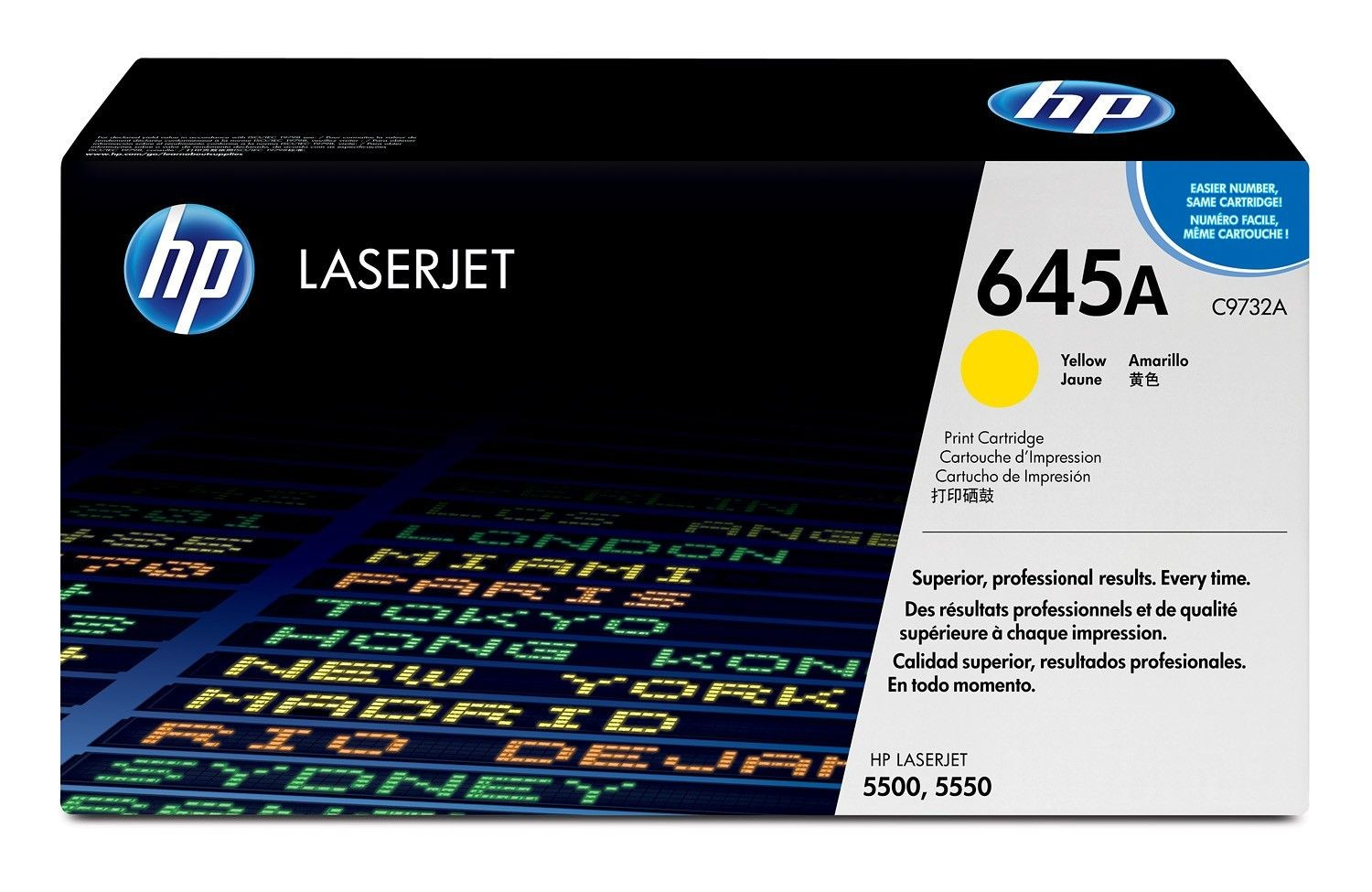 HP Toner HP yellow | 12000str | ColorLaserJet5500