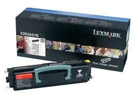 Lexmark toner black (2500str, X203/X204)