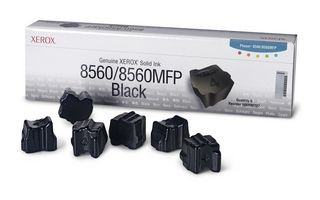 Xerox Kostki Solid Ink black x6 | 6 000str | Phaser 8560