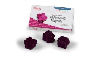 Xerox Kostki Solid Ink magenta x3 | 3 400str | Phaser 8400