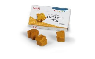 Xerox Kostki Solid Ink yellow x3 | 3 400str | Phaser 8400