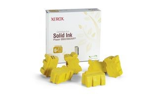 Xerox Kostki Solid Ink yellow x6 | 14 000str | Phaser 8860