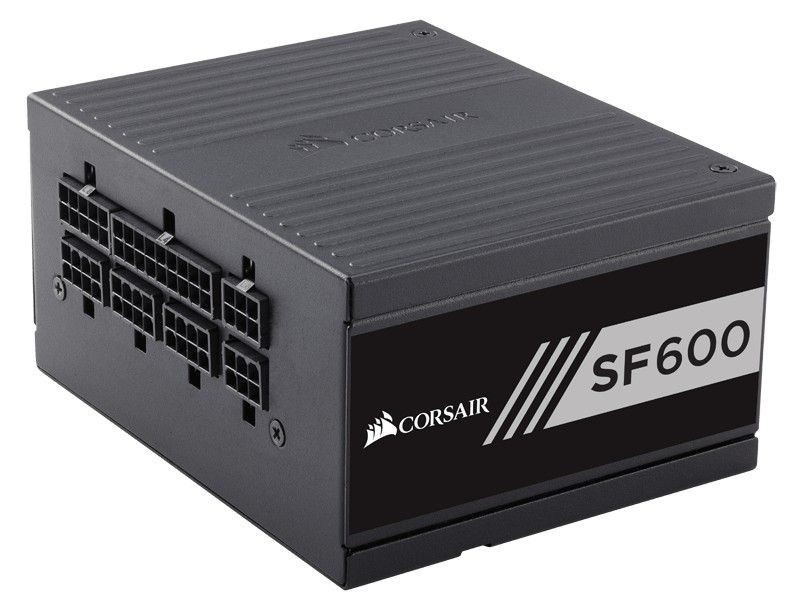 Corsair zasilacz SFSeries SF600-600Wat 80 PLUSGold Certified High PerformanceSFX
