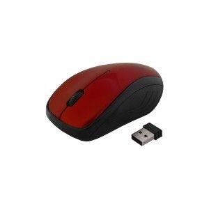 ART MYSZ bezprzewodowo-optyczna USB AM-92E czerwona