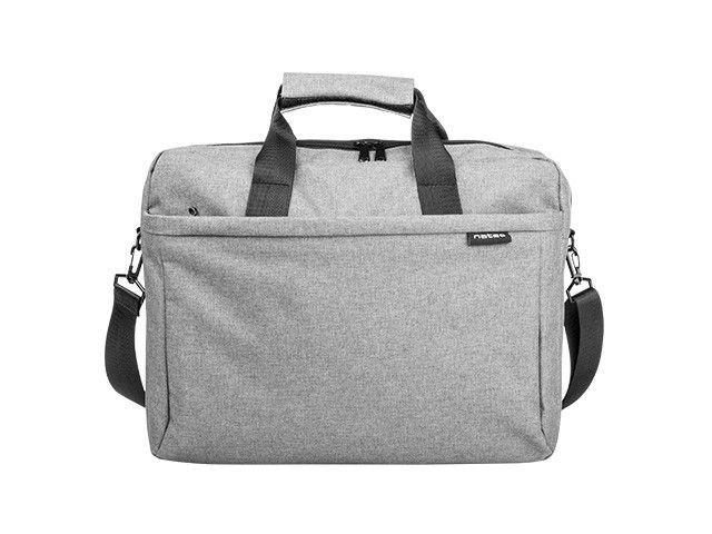 NATEC torba na notebooka MUSTELA 15.6'' Szara