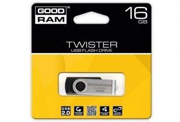 GoodRam Pamięć USB UTS2 16GB USB 2.0 Czarna