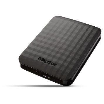 Maxtor Dysk zewnętrzny M3 Portable, 2.5'', 4TB, USB 3.0, czarny
