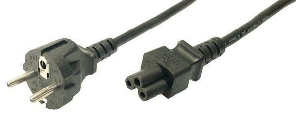 LogiLink Kabel zasilający Schuko,1,8m, VDE, czarny