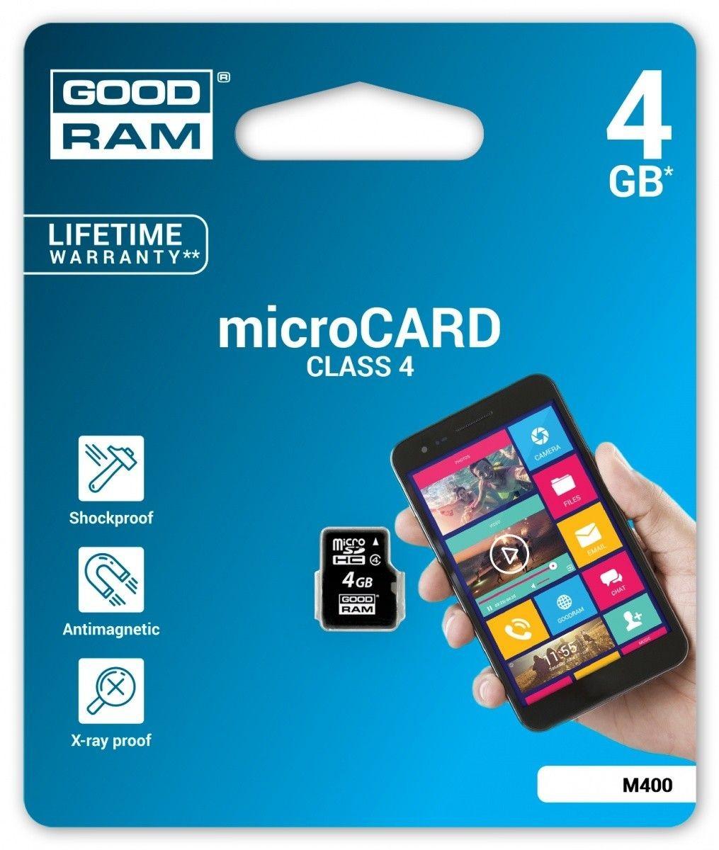 GoodRam microSD 4GB CL4