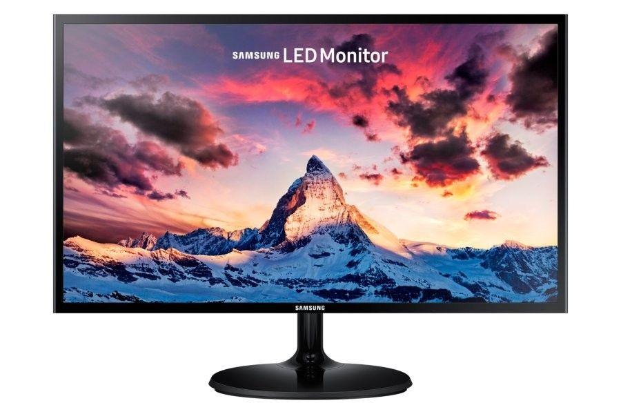 Samsung Monitor 23.5inch LS24F350FHUXEN, PLS, HDMI/D-Sub, FreeSync