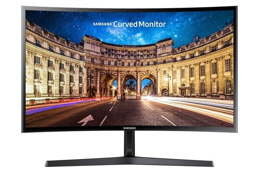 Samsung Monitor LC27F396FHUXEN, 27, panel VA, HDMI/D-Sub, Curved, FreeSync