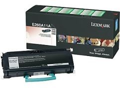 Lexmark toner black (return, 3500str, E26x/36x/460)