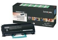 Lexmark toner black (return, 15000str, X463/X464/X466)