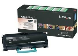 Lexmark toner black (return, 9000str, X264, X363, X364)