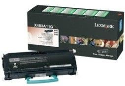 Lexmark toner black (return, 3500str, X463/X464/X466)