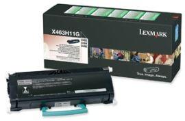 Lexmark toner black (return, 9000str, X463/X464/X466)