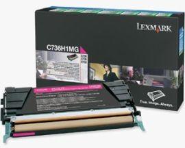 Lexmark toner magenta (return, 10000str, C736/X736/X738)