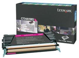 Lexmark toner magenta (return, 6000str, C734/C736/X734/X736/X738)