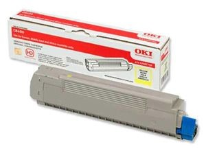 OKI Toner yellow | 6000str | C8600/C8800