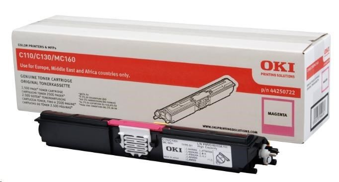 OKI toner magenta do C110/C130/160 (2500str)
