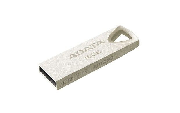 A-Data USB Flash Drive 16GB USB 2.0, metal