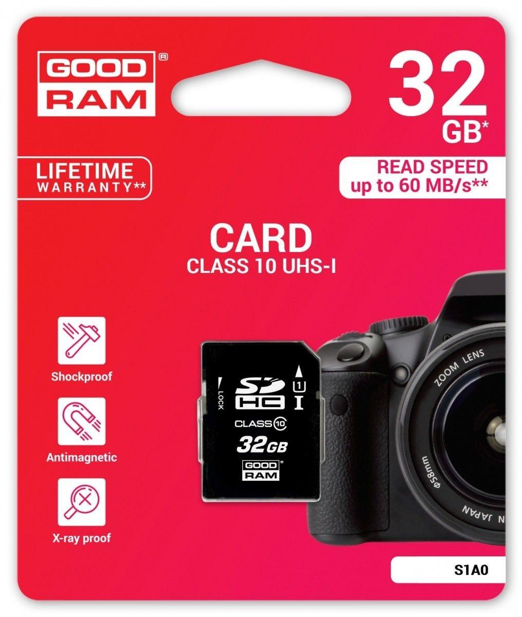 GoodRam SD 32GB Class 10 UHS I