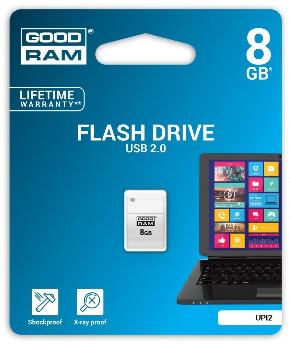 GoodRam PICCOLO 8GB USB 2.0 Biały