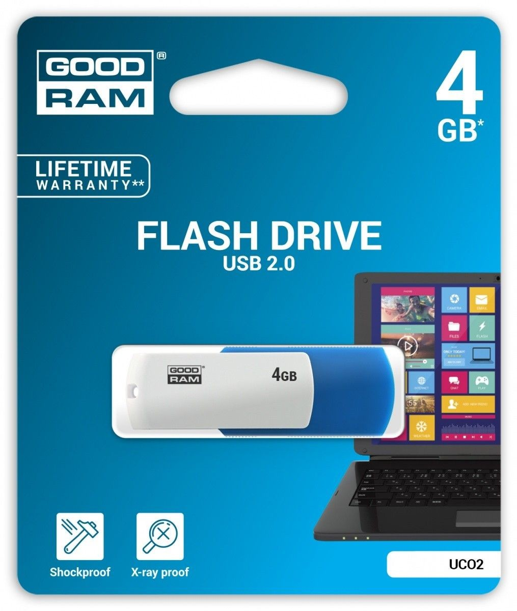 GoodRam COLOR MIX 4GB USB2.0