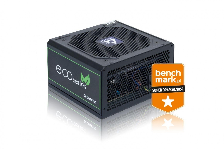 Chieftec zasilacz serii ECO GPE-600S, 600W Box
