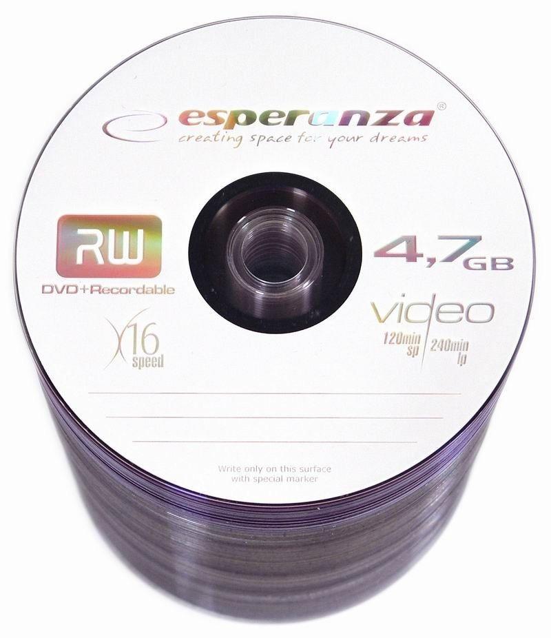 Esperanza DVD+R 4.7GB 16x (szpindel, 100szt)