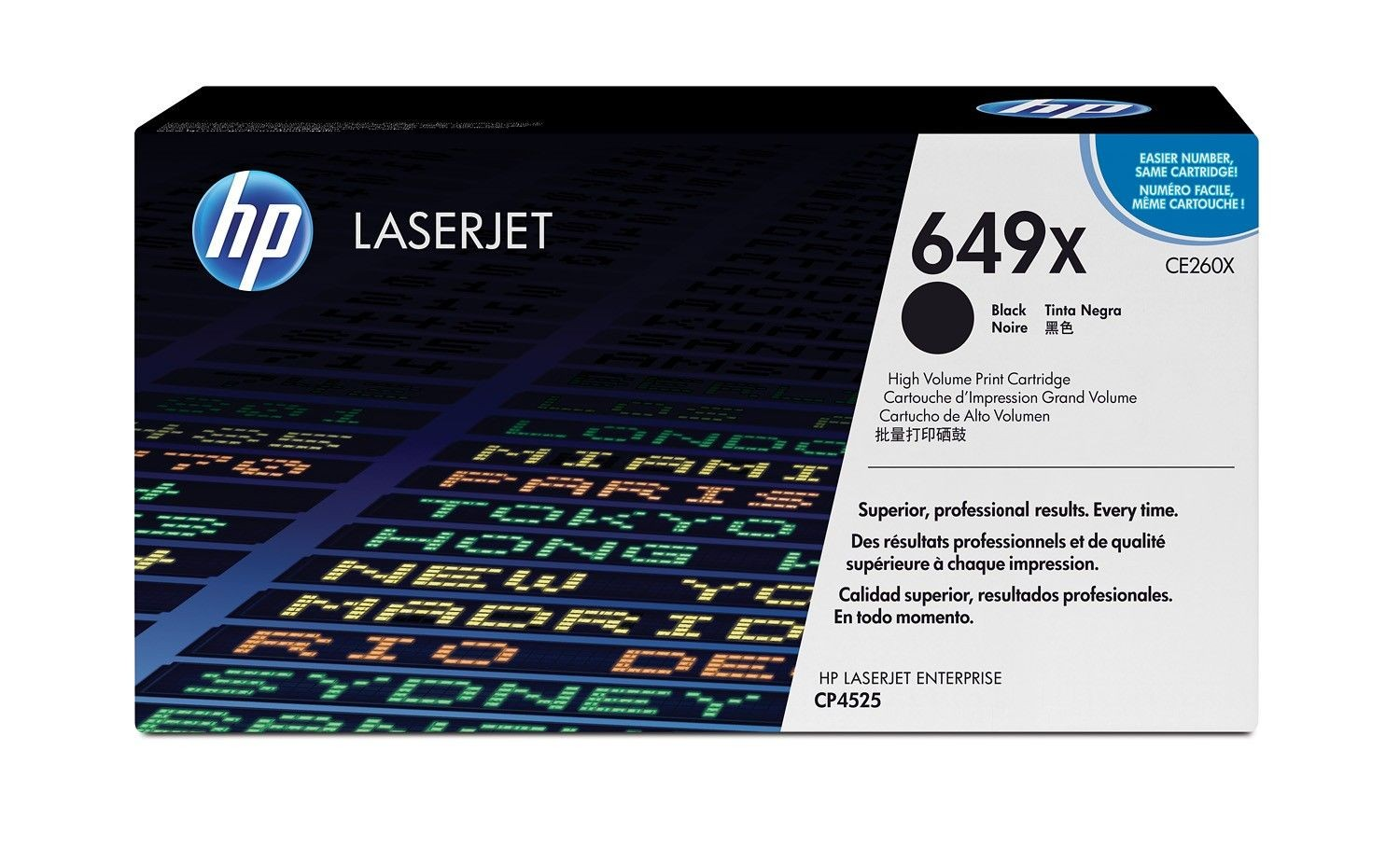HP toner black (17000str, LJ CP4525)