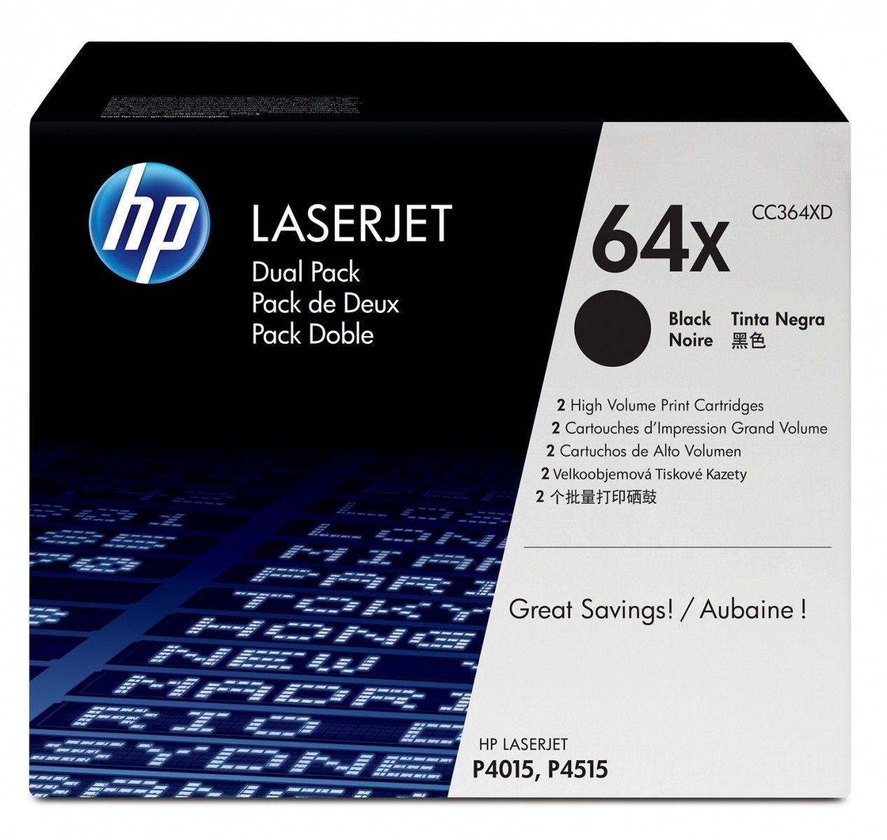 HP Toner HP black | 2x24000str | LaserJet P4015/P4515