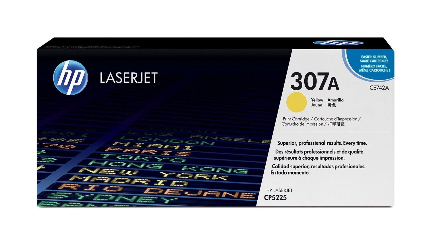 HP Toner HP yellow | 7300str | CLJ CP5220